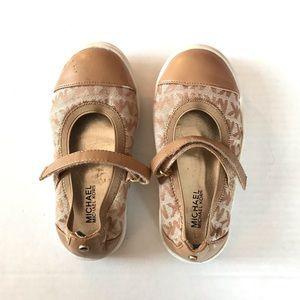 Michael Kora Tan Strap Shoes